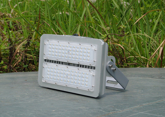 High Power 100 Watt Exterior LED Flood Lights 11000 Lm For Public Square