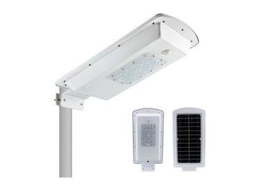 Cina Hemat Energi 15W All In One Integrated Solar Street Light 5500lm Ip65 pabrik