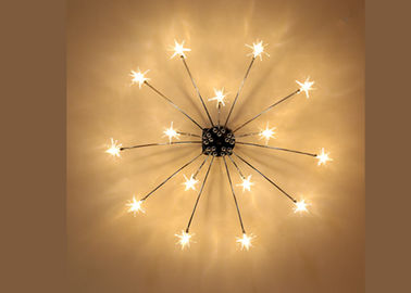Cina Fancy Star Led Downlight Lampu Langit-langit Ruang Makan Chandelier Gaya Nordic pabrik